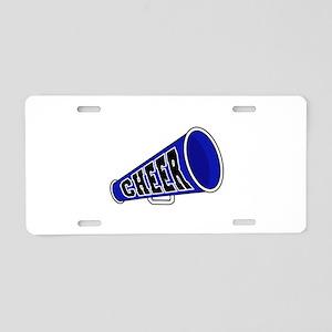 Blue Cheer Megaphone Aluminum License Plate
