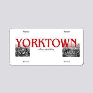 ABH Yorktown Aluminum License Plate
