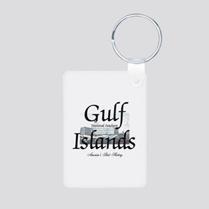 ABH Gulf Islands Aluminum Photo Keychain