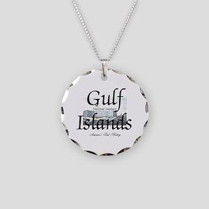 ABH Gulf Islands Necklace Circle Charm