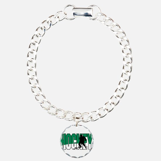 Hockey Graphic Bracelet