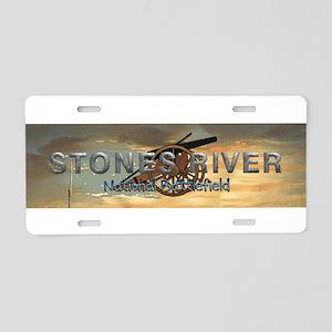 ABH Stones River Aluminum License Plate
