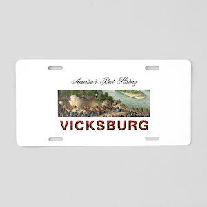 Abh Vicksburg Aluminum License Plate