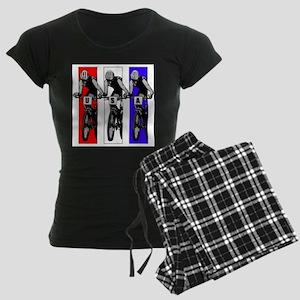 USA Biking Women's Dark Pajamas