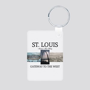 ABH Gateway Arch Aluminum Photo Keychain