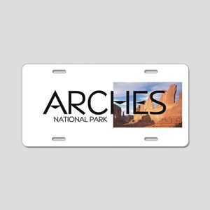 ABH Arches Aluminum License Plate