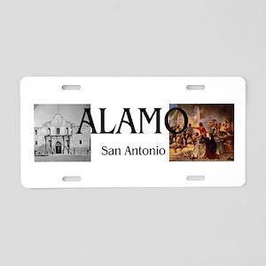 ABH Alamo Aluminum License Plate