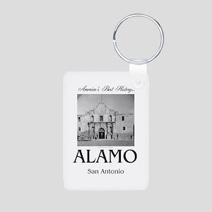 ABH Alamo Aluminum Photo Keychain