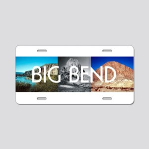 ABH Big Bend Aluminum License Plate