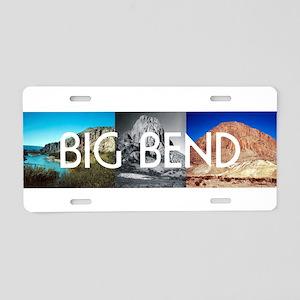 ABH Big Bend Aluminum License Plate