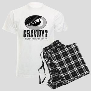 Gravity? Rock Climber Men's Light Pajamas