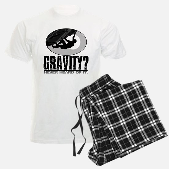 Gravity? Rock Climber Pajamas