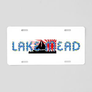 ABH Lake Mead Aluminum License Plate