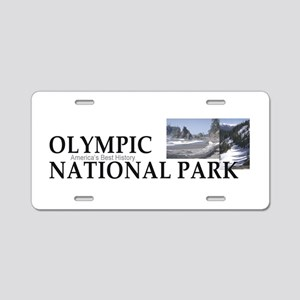 ABH Olympic NP Aluminum License Plate