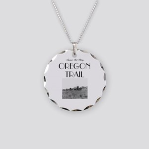 ABH Oregon National Historic Necklace Circle Charm