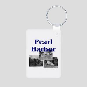 ABH Pearl Harbor Aluminum Photo Keychain