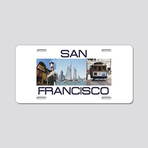 ABH San Francisco Aluminum License Plate