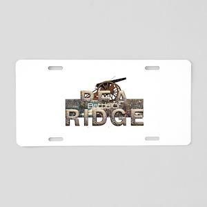 ABH Pea Ridge Aluminum License Plate