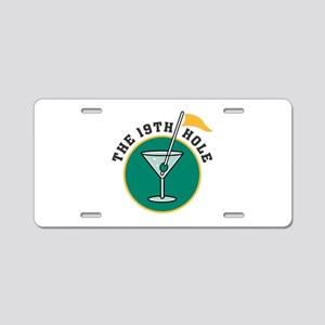 The 19th Hole Aluminum License Plate