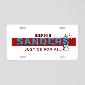 Bernie Sanders Aluminum License Plate