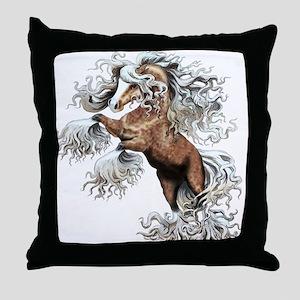 Palomino Fantasy Throw Pillow