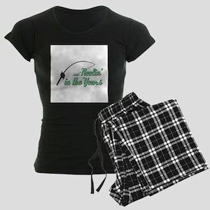 Reelin' in the Years Women's Dark Pajamas