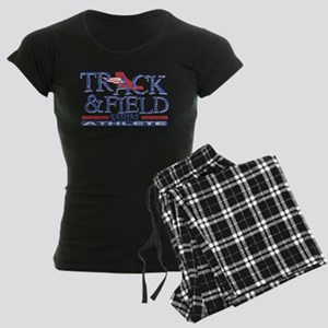 Track and Field Athlete Women's Dark Pajamas