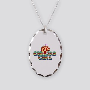 CPM Carnival Girl Necklace Oval Charm