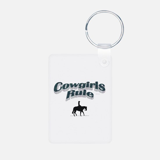 Cowgirls Rule Keychains