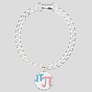 QT Pi (Cutie Pie) Charm Bracelet, One Charm