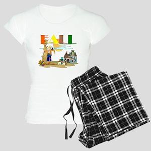 Fall Slogan Women's Light Pajamas