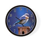 Bluebird (Female) Wall Clock