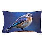 Bluebird (Female) Pillow Case