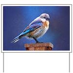 Bluebird (Female) Yard Sign