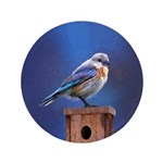 Bluebird (Female) Button