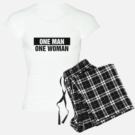 One Man One Woman Pajamas