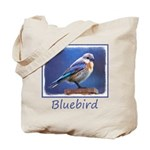 Bluebird (Female) Tote Bag
