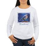 Bluebird (Female) Women's Long Sleeve T-Shirt
