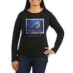 Bluebird (Female) Women's Long Sleeve Dark T-Shirt