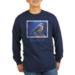 Bluebird (Female) Long Sleeve Dark T-Shirt