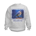 Bluebird (Female) Kids Sweatshirt