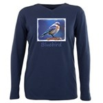 Bluebird (Female) Plus Size Long Sleeve Tee
