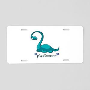 Plesiosaur Aluminum License Plate