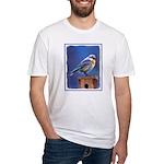 Bluebird (Female) Fitted T-Shirt