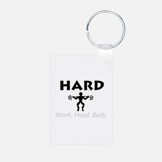 TOP Hard Work Head Body Keychains