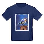 Bluebird (Female) Kids Dark T-Shirt