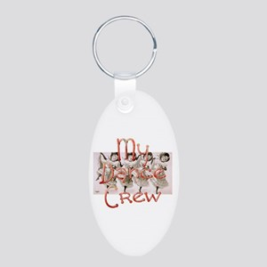 My Dance Crew Aluminum Oval Keychain