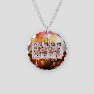 My Dance Crew Necklace Circle Charm