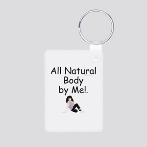 TOP All Natural Body Aluminum Photo Keychain