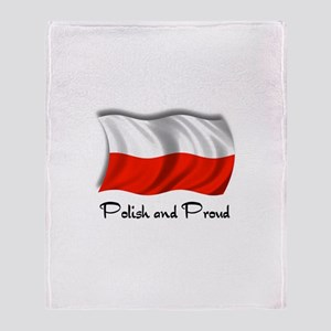 Polish and Proud Throw Blanket